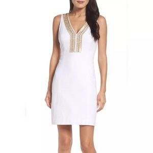 Lilly Pulitzer White Dress 16